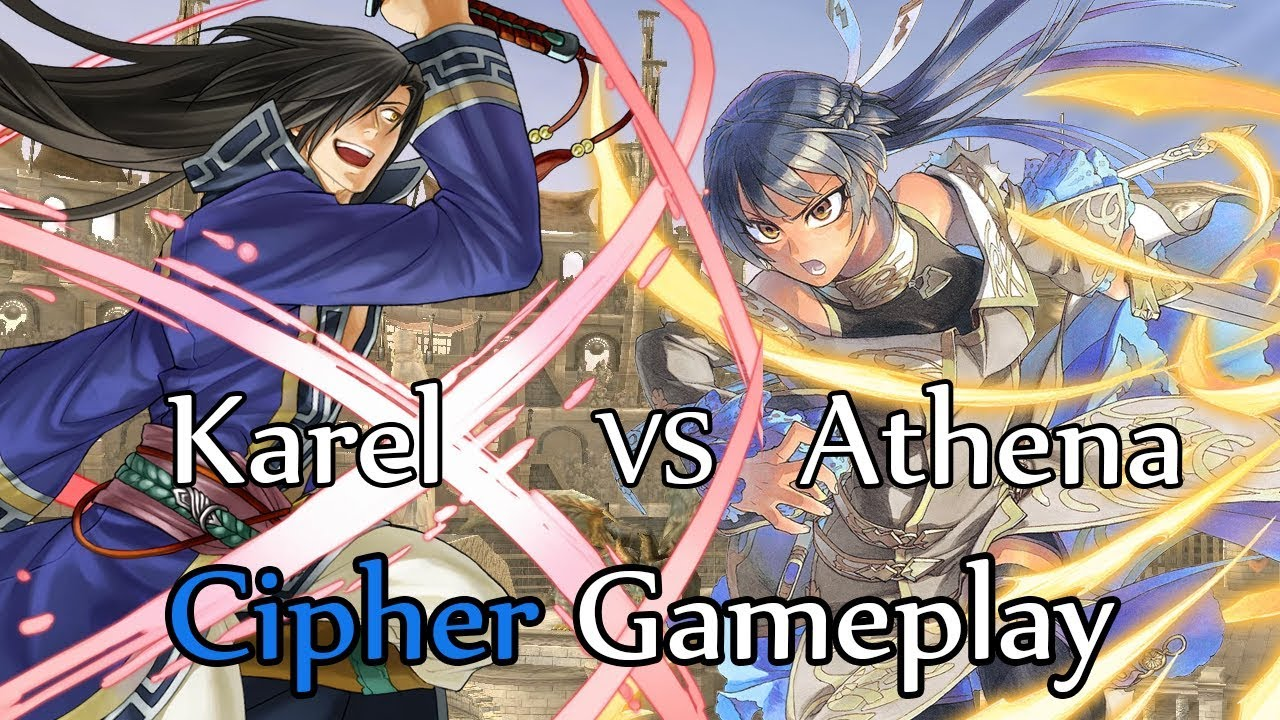 Fire Emblem Cipher 0 Quick match: Karel vs Athena
