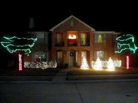 Gemmy Christmas Light Show 2010 - Carol of the Bells
