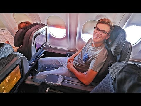 TRIP REPORT | Scandinavian Airlines SAS Plus (PREMIUM ECONOMY) | A340 | Copenhagen to San Francisco