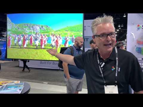 Insane 160 inch Screen Innovations ZERO-G Projector Screen, Shades & Mesh Network  CEDIA 2019