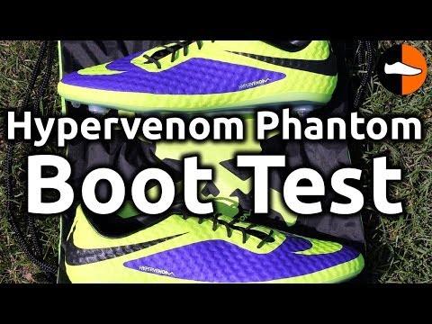 Nike Hypervenom Phantom Boot Test
