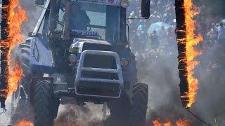 Лучшие моменты на тракторных гонках Бизон-Трек-Шоу 2015