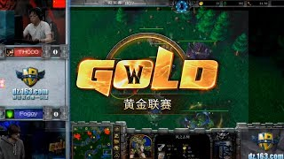 WarCraft 3 Golden 2017 с Майкером.Final Foggy vs TH000 (MUST SEE)