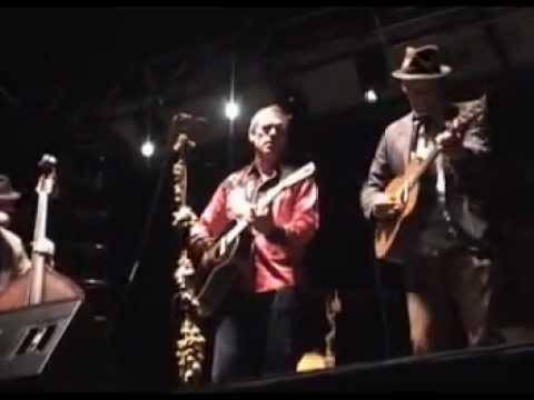 Hugh Laurie with David Piltch and Kevin Breit at Rhythm & Roots 2012