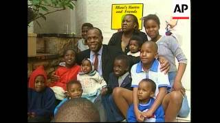 SOUTH AFRICA: AIDS BOY: NKOSI JOHNSON FALLS ILL
