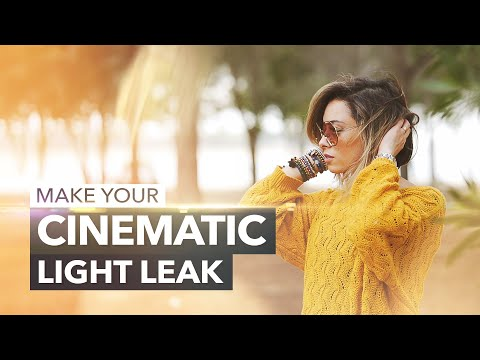 DIY Cinematic Light Leak Effects & Transitions + 4K Free Library