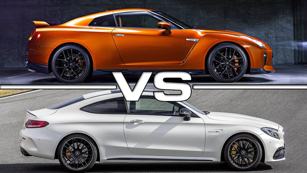 2017 nissan gt r vs mercedes amg c63s coupe youtube. Black Bedroom Furniture Sets. Home Design Ideas