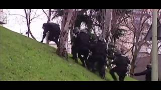 French Police vs Hill (Le Gendarme De St Tropez music)