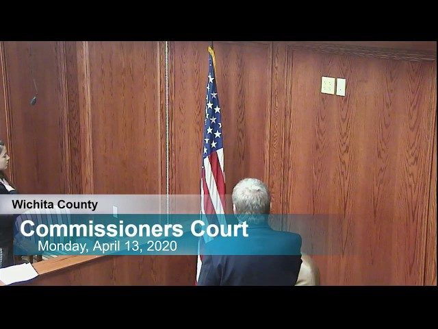 Commissioners Court 04/13/2020