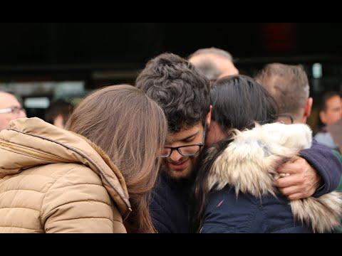 Familiares y compañeros de la joven maquinista fallecida en el accidente de de Barcelona se concentran en Córdoba