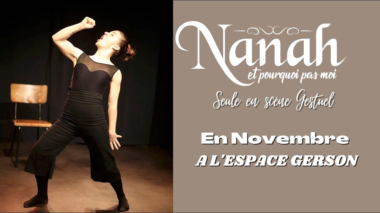 Nanah arrive à l'Espace Gerson pour 3 mois