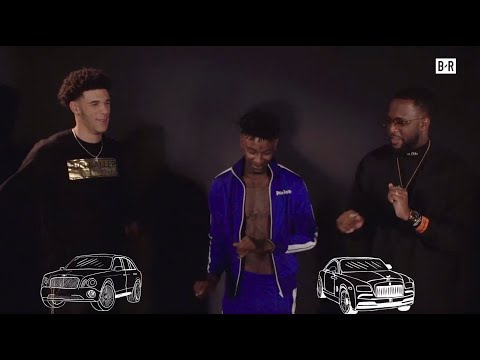 "Los Angeles Lakers Rookie Lonzo Ball and 21 Savage Play ""Finish The Lyric"""