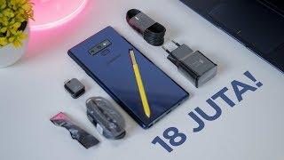 UNBOXING Samsung Galaxy Note9 versi 512GB!
