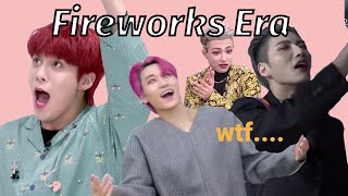 Ateez Fireworks Was Quite Chaotic