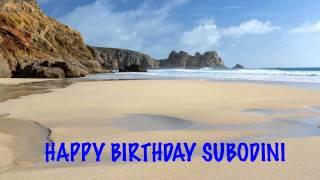 Subodini Birthday Beaches Playas