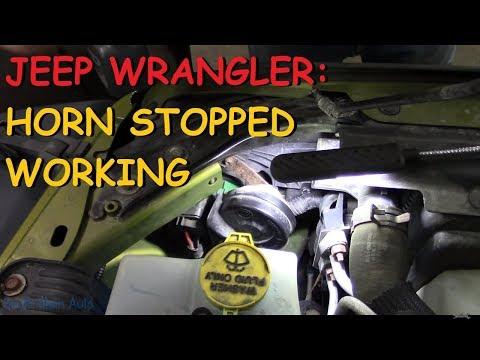 Jeep Wrangler: Horn Quit Working - YouTubeYouTube