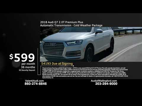 Great September Offers At Audi Of Wallingford And Valenti Audi YouTube - Audi wallingford