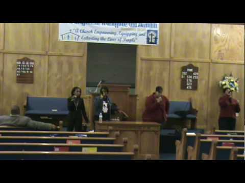 New Testament At Practice Singing I Know I've Been...