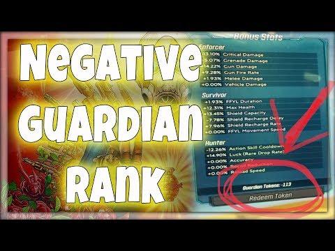 Borderlands 3 - Quick Fix For Negative Guardian Rank