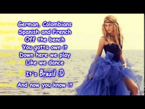 Shakira   La La La Brasil 2014 Lyrics  FIFA World Cup Song 2