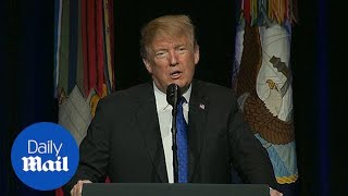 President Trump calls for an expanded missile defense program
