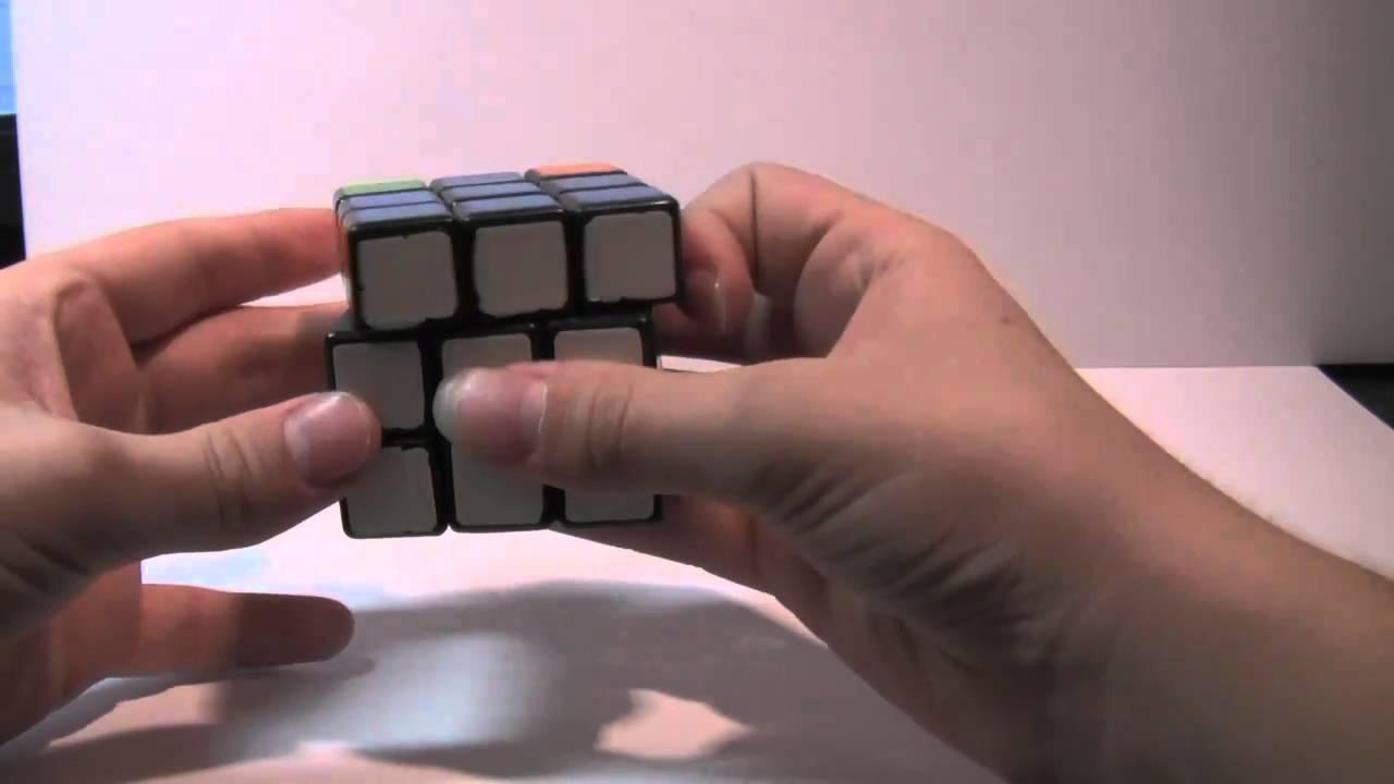 сборки кубика рубика 3х3 1 схема