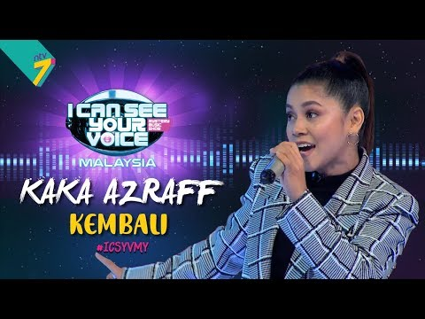 I Can See Your Voice Malaysia : Kaka Azraff – Kembali | #ICSYVMY