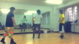 VIC:CESS DANCERS TATSU・NORI・SERI 2014.10.4 渋谷o-westにて3rdワン...