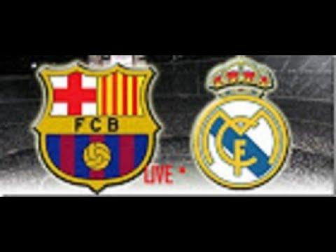 FC Barcelona Vs Real Madrid Live Stream (Spanish Super Cup First Leg)