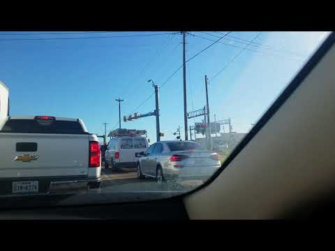 North Tarrant Parkway Railroad Crossing Activates And Cancells 2 Times Because Of UP Train,Keller TX