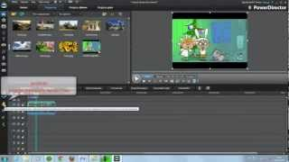 Обрезаем видео, удаляем звук, применяем маску и частицы в CyberLink PowerDirector10(http://tereska.ru Обрезаем ненужное на видео и добавляем эффекты в видеоредакторе CyberLink PowerDirector., 2012-12-25T11:55:36.000Z)