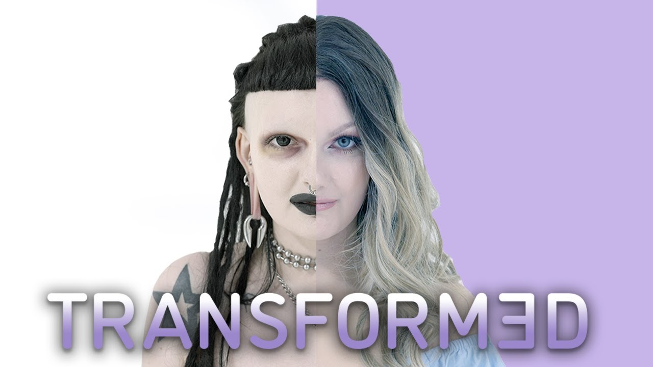 My Look Is 'Nu Metal Goth' - Now I'm Going Girly Glam | TRANSFORMED