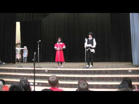 Annie (The Musical) played by Auri Morning Creek Elementary School