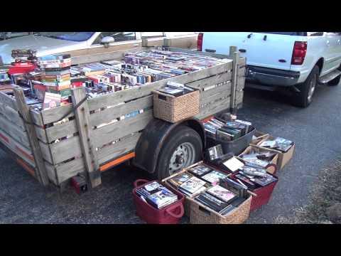 HUGE VHS DVD & CD Haul! Make Money Reselling on eBay Amazon Resale Tips Update
