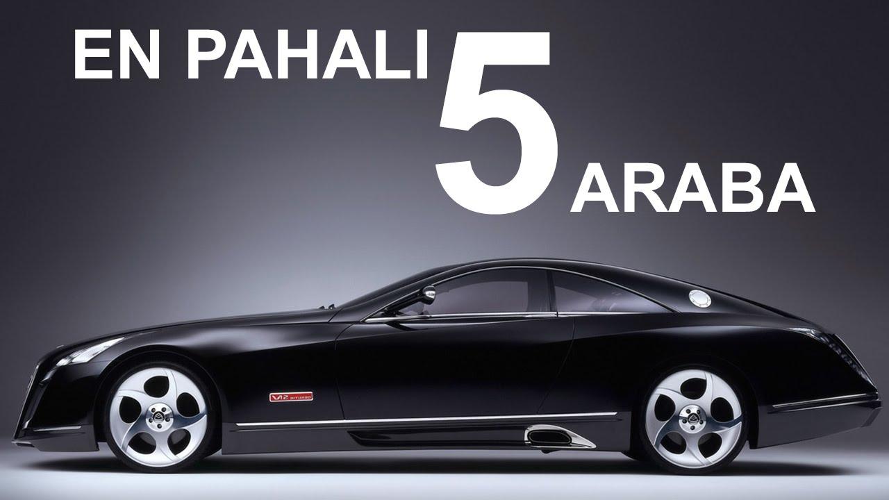 Dünyanın En Pahalı 5 Arabası Youtube