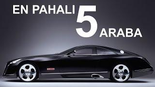 Dünyanın En Pahalı 5 Arabası