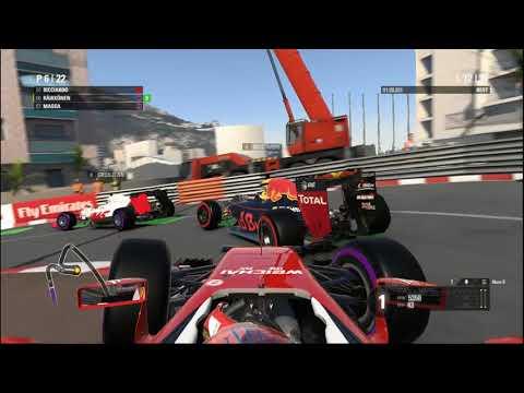 Let's Play F1 2016 Monaco Walkthrough Part 6