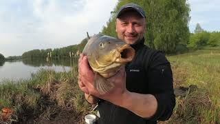 Открыл сезон по карпу рыбалка в мае