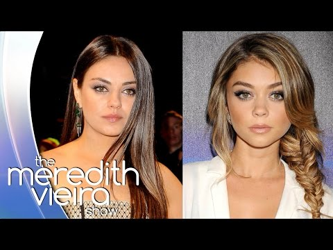 Sarah Hyland On Being Mistaken For Mila Kunis | The Meredith Vieira Show