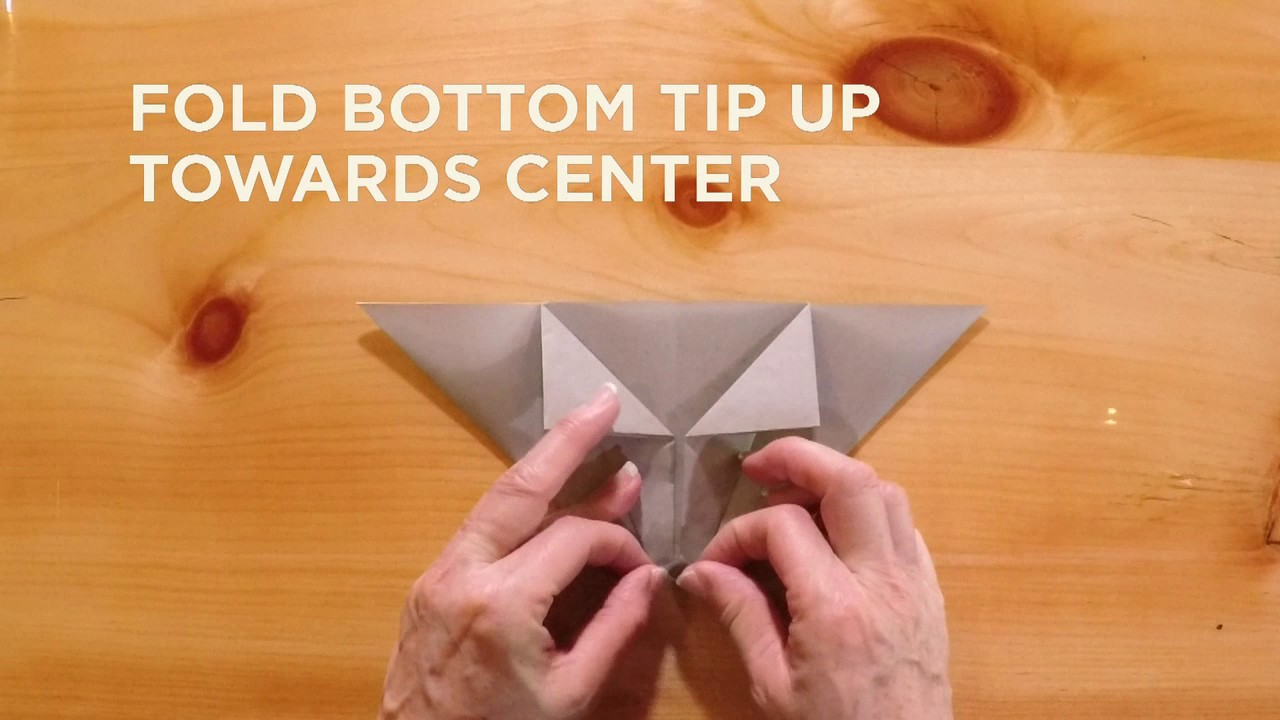 Great Wolf Lodge Origami Tutorial How To Make A Wolf Full Step By