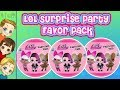 LOL Surprise Party Favor Pack Ball | Narrated With My 2 Year Old Niece by MyTubePM