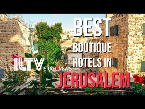 Best AFFORDABLE Boutique Hotels In Jerusalem