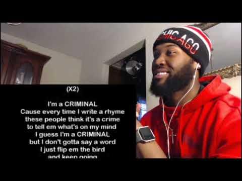 Eminem - Criminal - REACTION