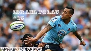 "Israel Folau 2015 Tribute "" Leadership Time"" [Super rugby 2015  Highlights]"