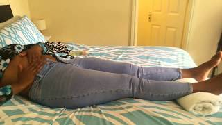 SELF ABDOMINAL MASSAGE ROUTINE FOR CONSTIPATION AND FLAT BELLY