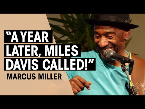 Marcus Miller | Music & Technique Talk | Thomann
