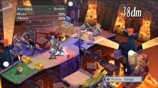 Disgaea 4: A Promise Unforgotten - Battle Footage Video #1 (PS3)
