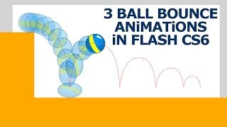 Animate Like a PRO! Bouncing Balls in Flash CS6