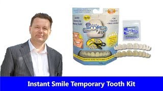 Instant Smile Temporary Tooth Kit - How to fit.