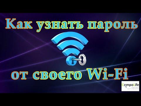 Как узнать свой пароль от Wi-Fi в Windows 7, Windows 10 или на роутере